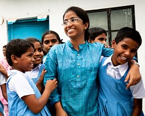 Sunitha has been saving children as young as three years old from the prostitution racket.