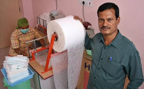 Arunachalam Muruganantham, known as India's 'Menstrual Man' started researching on affordable sanitary napkins when he realised his wife used rags during her periods.
