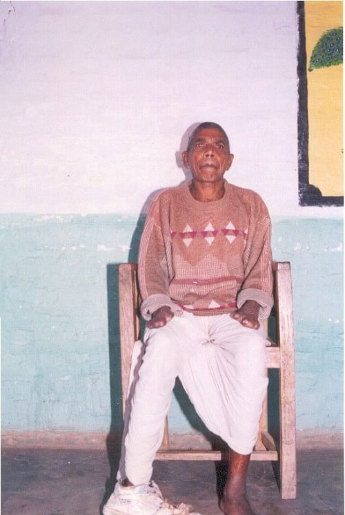 A person afflicted with leprosy lives with dignity at Sahyog village.