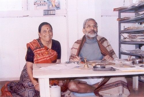 Suresh Soni and his wife Indira, who have created and nurtured Sahyog with their own loving hands