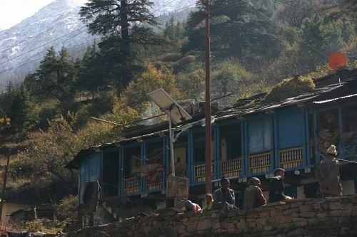 Tholma Village, another base of the Mountain Shepherds