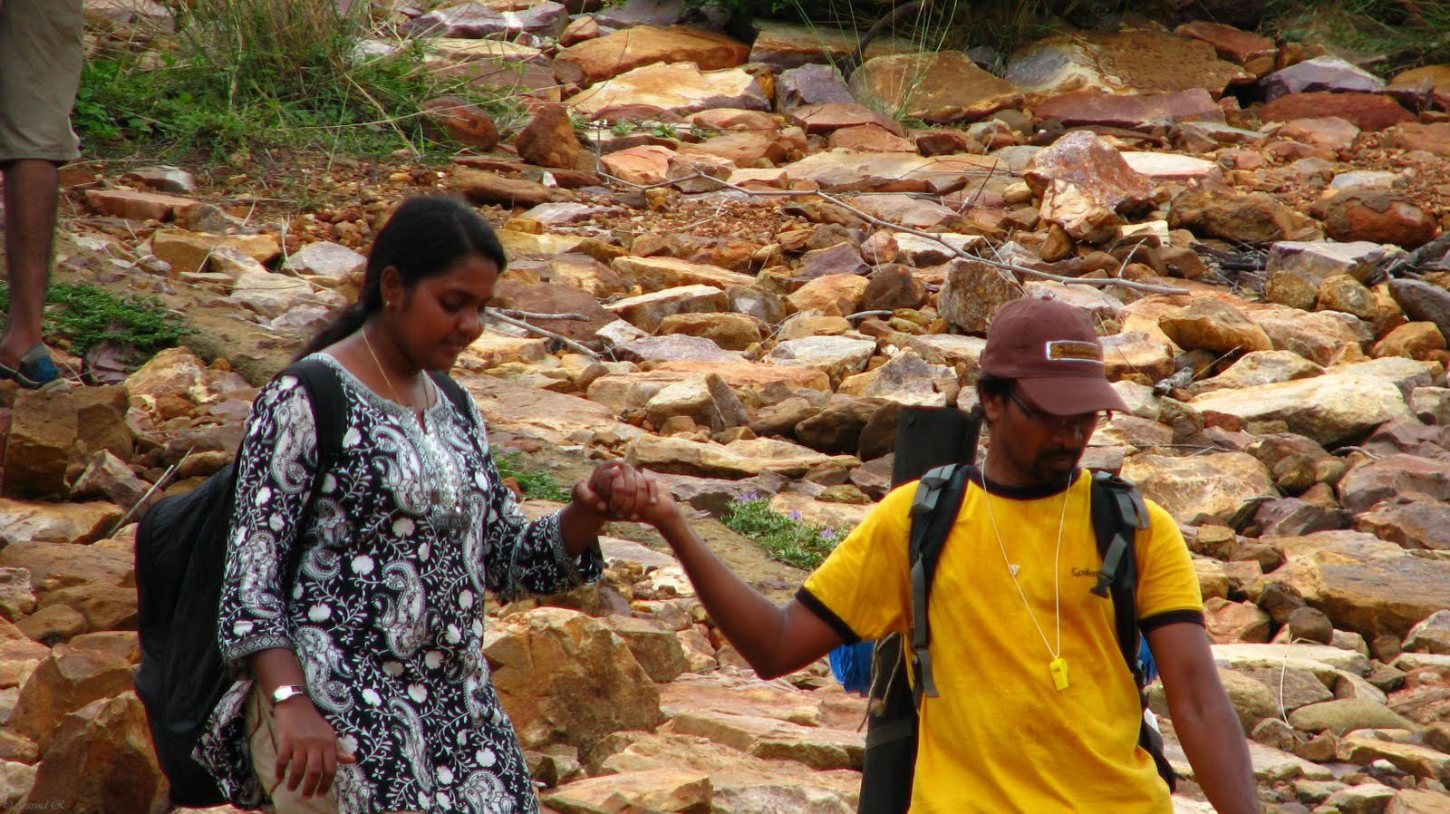 Thilak and Dhana have been part of social trekking groups in Chennai