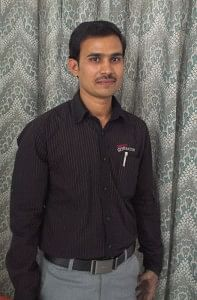 Suresh, who joined the 20th Batch of Unnati and is doing very well currently