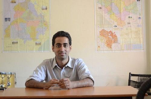 Kshitij Mehra, founder of Yuvshaala
