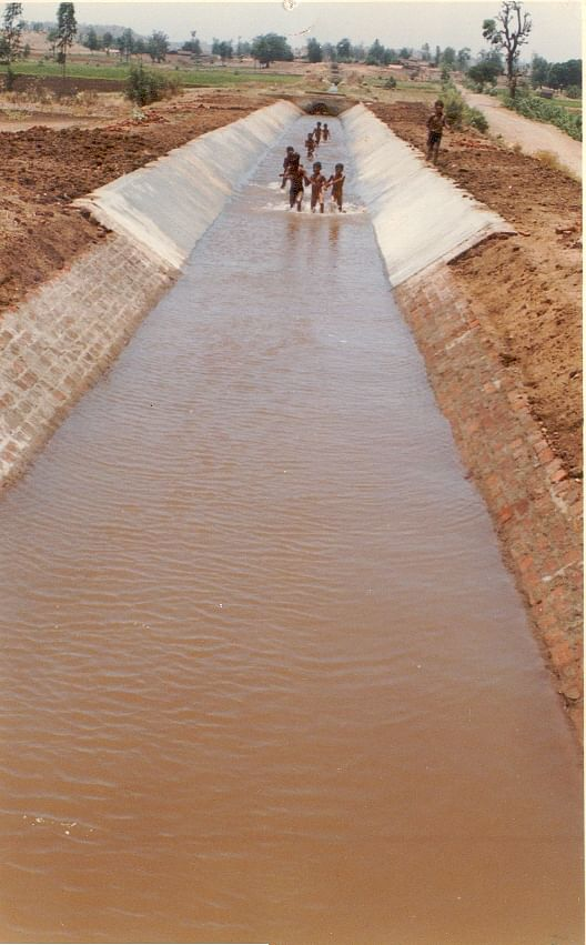 The efficiency of water committees has ensured that the irrigation canals provide adequate water to all farmers in the area.