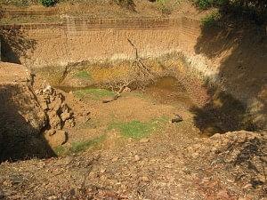 Rain Pond at AR farms, Heroor village, Kundapur, Udupi district