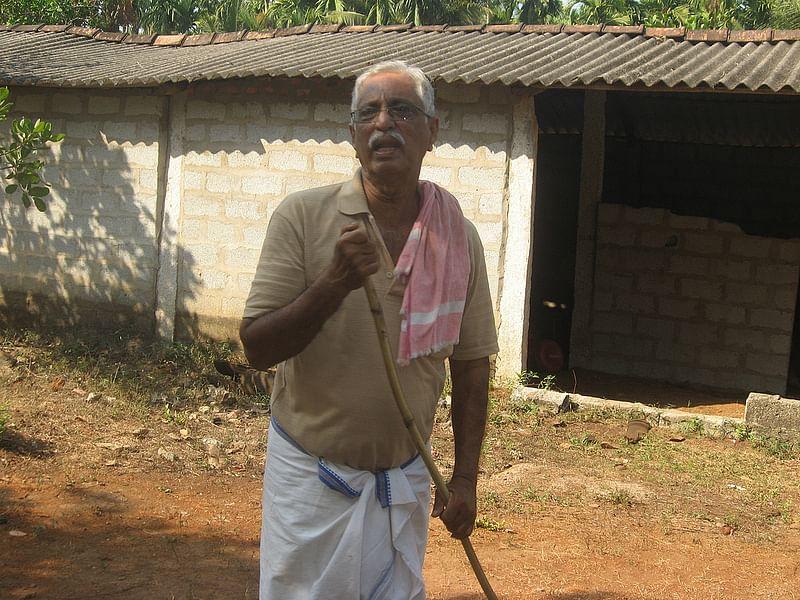 Richard Rebello, owner of AR farms, Heroor village, Kundapur, Udupi district