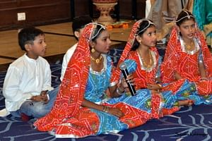 Students at the Bagiya school are encouraged to participate in cultural activities.