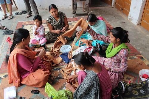 Stitching Centre at Jharsa Village, Gurgaon