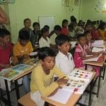 """Bagiya school in Gurgaon """"mainstreams"""" more than 50 children of construction site workers every year!"""
