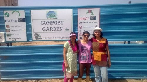 Waste management and composting has been implemented effectively