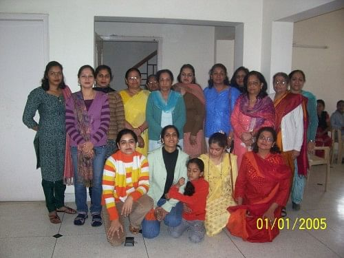 Bagiya school is run with the help of 20 volunteers