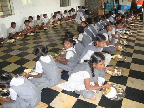 Meals are provided at the children's homes