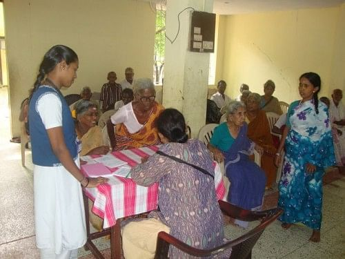 Medical camps conducted by Sevalaya help the residents as well as other villagers