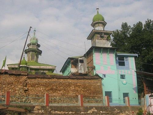The Astan-e Bala shrine in Kishtwar