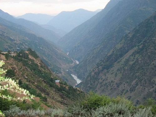 The beautiful Kishtwar is bounded by hills and valleys