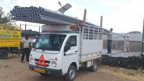 80 PVC pipes were provided by Nice Systems Ltd for installation at Vaghluj Village in Ashti Taluka, thus creating permanent solutions for water scarcity for the inhabitants of Vaghluj Village.