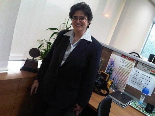 Sharmila Divatia at her corporate office in Mumbai