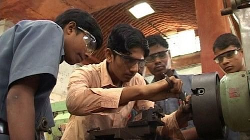 Vocational Training is provided to tribal youth under the Vivekananda Gramin Tekniki Kendra