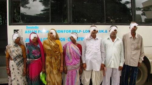 Cataract Operations are part of the eye care facilities provided to the rural populace.