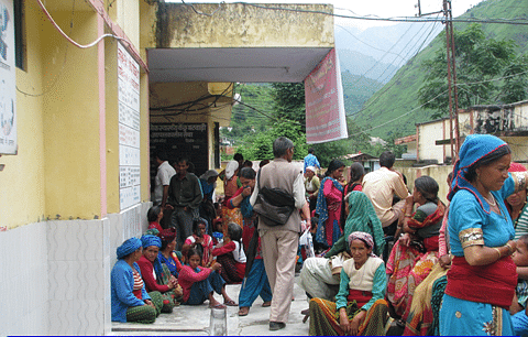 Venue Selected: Remote and Inaccessible Hamlet of Bhatwari