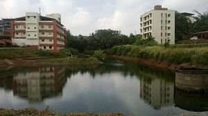 Yenepoya Medical College in Mangalore is now largely self-sufficient in water needs