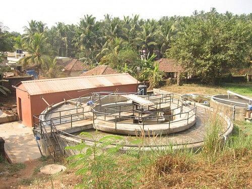 Sewage Treatment plant at the Yenepoya Medical College campus