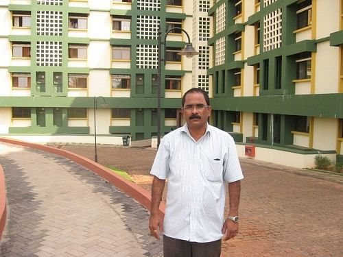 Narayan Bhatji, The Project Manager of the RWH effort at Yenepoya Medical College