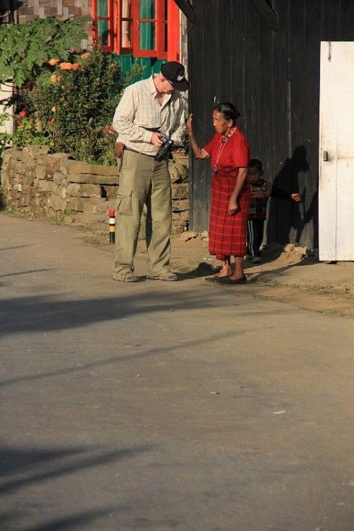 A village in Nagaland