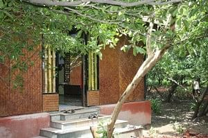 A classroom in Tamarind Tree school as seen from outside