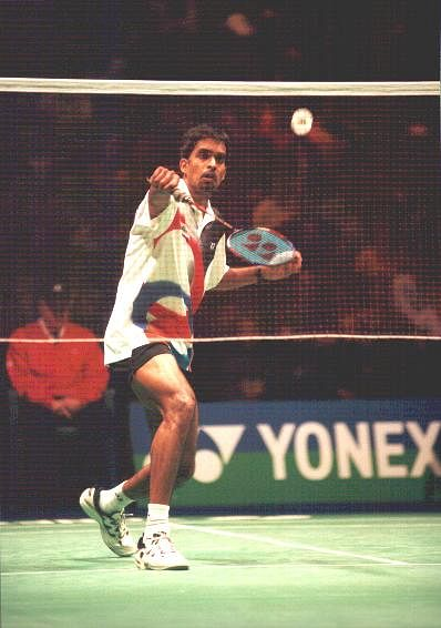 Pullela Gopichand in action