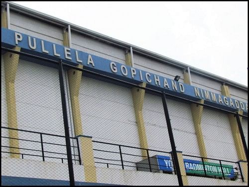 Gopi Chand's Badminton Academy in Hyderabad
