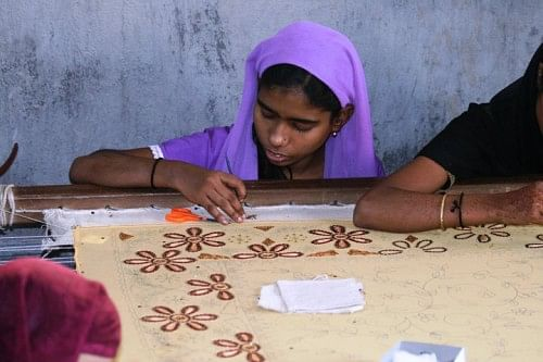 Providing life skills like hand embroidery is an important tool for making women independent