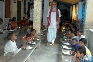 96-year old Sudhanhsu Biswas