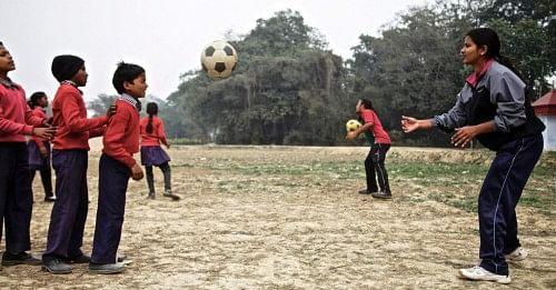 Football session- Teaching Heading