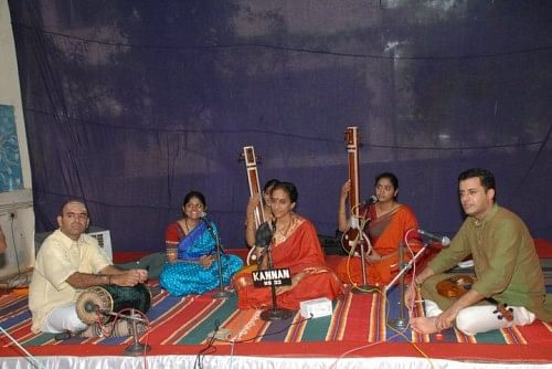 Bombay Jayashri in concert at V-Excel