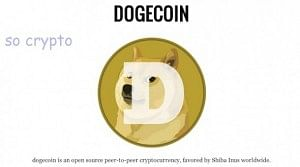 The dogecoin is the new cryptocurrency on the block