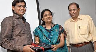 Mahender Vaishnav Felicitated by L V Prasad Eye Institute