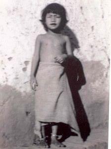 Irom Sharmila - childhood photograph