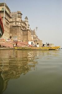 A boat ride on the Ganges.