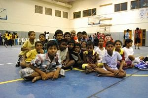 The excited children who can't wait for the next 2 week session to begin in June