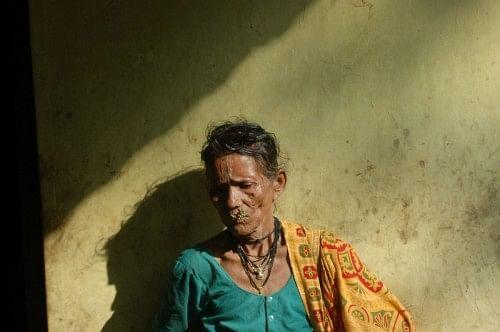 A Warli woman