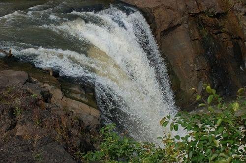 The waterfall on Jambha river