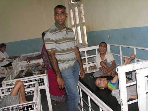 Ram at the Rehabilitation and Resettlement Institution named Premdham in Bijnor Distt.