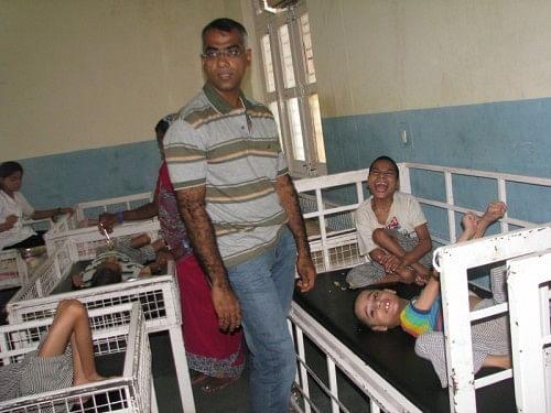 Ram at the Rehabilitation and Resettlement Institution named Premdham in Bijnor Distt.