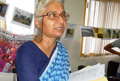 Draped in handloom, with grey, carelessly plaited hair, Medha Patkar is an indomitable advocate of the socialist cause.