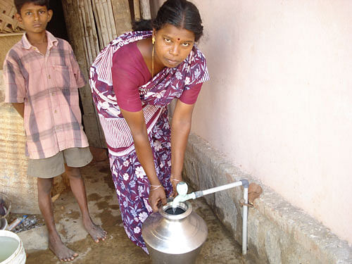 Clean water is a basic human right but many homes in India have to do without it