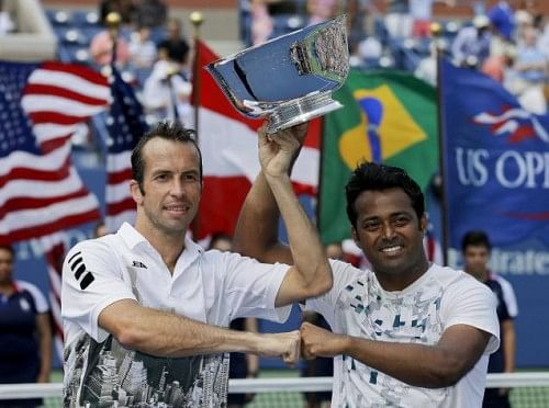 Leander is the oldest man to have won a Grand Slam