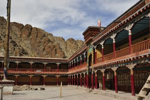 Inside Hemis. Picture courtesy: Dorje.