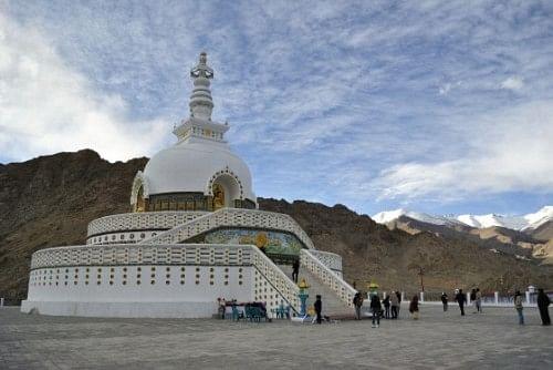 Shanti Stupa, Leh.